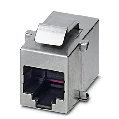 PHOENIX CONTACT VS-08-BU-RJ45/BU RJ45-Kupplung, 8 Polzahl, 1 GBit/s, 5 Stück