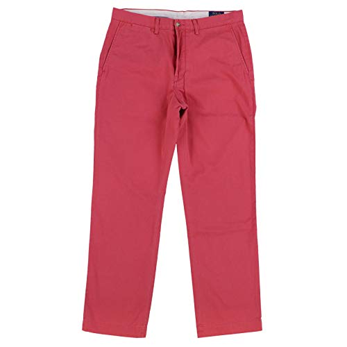 Ralph Lauren Polo Men's Classic Fit Cotton Chino Pants, Nantucket Red (32x30)