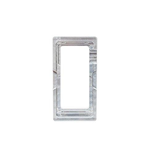 TANGJIANCHENG-PHONE ACCESSORIES Profesional Compatible con Samsung Galaxy S6 Aleación de Aluminio Precisión LCD y Pantalla táctil Reacondicionamiento Posicionamiento Molde Molde Partes