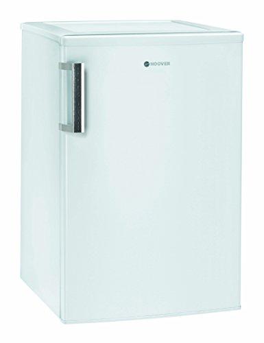 Hoover HVTLS 544 WH Kühlschrank/A++ / 85 cm Höhe / 91 kWh/Jahr / 125 L Kühlteil/Edelstahlhandgriff/LED Licht/weiß