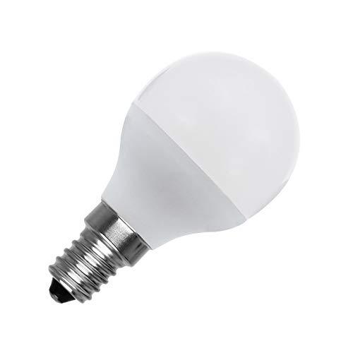 LEDKIA LIGHTING Bombilla LED E14 Casquillo Fino G45 5W Blanco Frío 6000K - 6500K