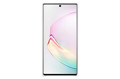 Samsung Galaxy Note10+ Silicone Cover Case - White