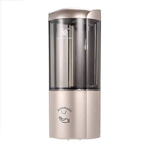 500ml Automatischer Sensor Wasserhahn Infrarot Seifenspender Wand-Einzelflasche Automatische Seifenspender Washroom Toilette Handspülmitte Touchless Seifenspender