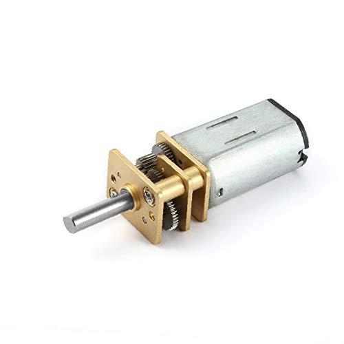 X-DREE Motore a ingranaggi mini motore a riduzione di velocità DC 12V 470RPM con 2 terminali per motore di auto RC Modello di motore fai da te(DC 12 V 470 RPM Micro Motor de Reducción de Velocidad Min