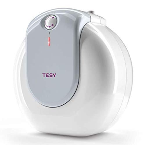 Tesy Compact - Termo de Agua Eléctrico Compacto de 15 Litros Con Tomas Superiores y Alta Eficiencia Energética.