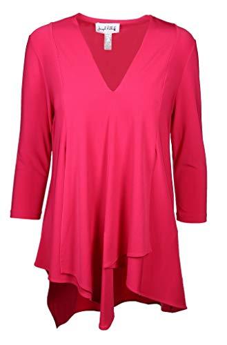 Joseph Ribkoff Damen Bluse Größe 44 EU Pink (pink)