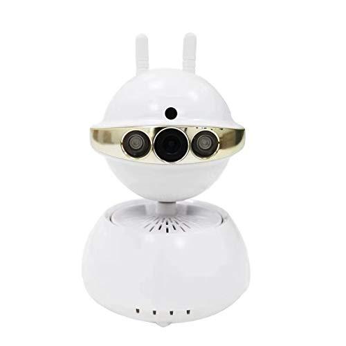 LGtron LGK-990HD P2P WiFi P/T en la nube de radio-cámara de interior, en caso de alerta de un sistema de alarma se esta cámara a través de radio informa, E-mail con foto enviar un vídeo y grabación (YouTube video), motor de mando, de infrarrojos para visión nocturna, micrófono y altavoces, incluido soporte y garantía