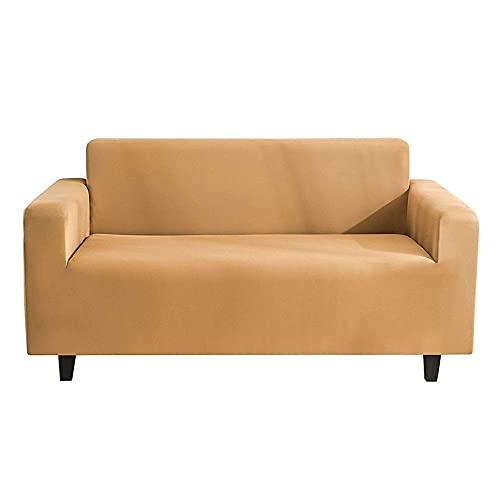 FG MEDICAL Sofabezug Stretch Couchbezug Sofabezüge Möbelschutz Spandex Couchmantel Mit Elastischem Boden -C-3 Sitzer 190-230cm