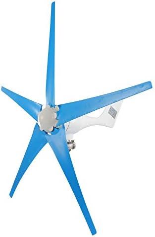Dyna Living Wind Turbine Generator 500W DC 24V 5 Blade Controller Turbine Generator Kit for product image