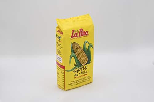 Gofio LA PIÑA Millo (Maíz) Tueste Suave 500 gr. Producto Islas Canarias.