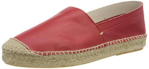 PIECES Damen PSKATIE Leather Espadrille Espandrilles, Grenadine, 38 EU