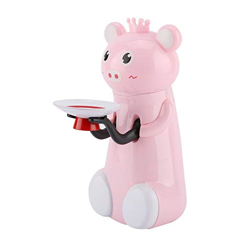 Duokon Spardose Nette Kreative Tierform Automatische Münze Essen Einsparung Musik Topf Spielzeug Kinder Geschenk Sparschwein für Jungen Mädchen Erwachsene(Schwein)
