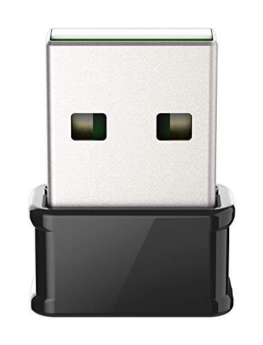 D-Link DWA-181 Wireless AC MU-MIMO Nano USB Adapter (MU-MIMO Wave 2 kompatibel, WPA3 für Windows 10, Mac OS 10.14 & Linux Kernel 4.17)