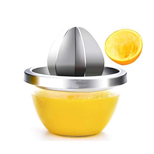 NBSY Spremiagrumi a Mano, Spremi Limone, frullatore, Slow Juicer,Estrattore di Frutta ; 6 Piastre d'Acciaio tridimensionali Separate, l'estrazione del Succo è più Risparmio di manodopera,