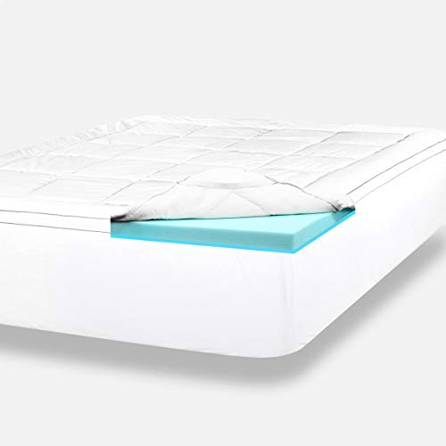 ViscoSoft 4 Inch Pillow Top Gel Memory Foam Mattress Topper...