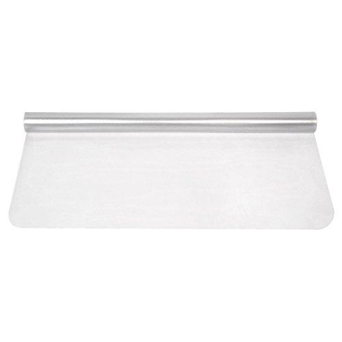 FEMOR Estera de protección de suelo de policarbonato transparente de PVC para oficina, silla de oficina para suelos duros laminados, parqué y baldosas, 1200 x 900 x 1,5 mm (transparente)