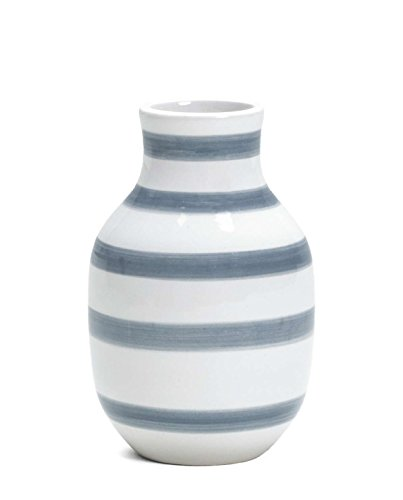 Kahler ケーラーOmaggio Vase オマジオ フラワーベース(S) ライトブルー H:12.5cm