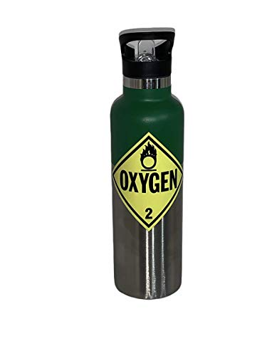 Medical Sports Water Bottle Funny Nurse Respiratory Therapist (Stainless-Steel)