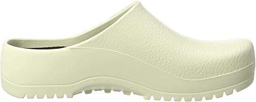 Birki's Unisex-Erwachsene Super Birki Clogs, Weiß White, 40 EU