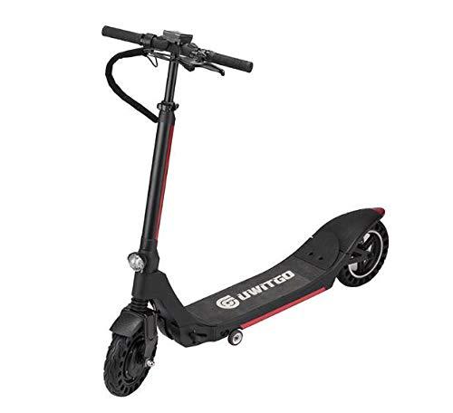 ONLYU Elektro-Scooter Erwachsene Kinder, Folding E-Roller-Motor Power 350W Hohe Akkulaufzeit, Höchstgeschwindigkeit 25 Km/H, 10 Zoll Reifen Faltbare Bewegliche E-Scooter,8.8Ah