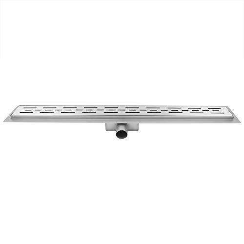 Doucheafvoer/afvoer, douchegoot van roestvrij staal, 80 cm