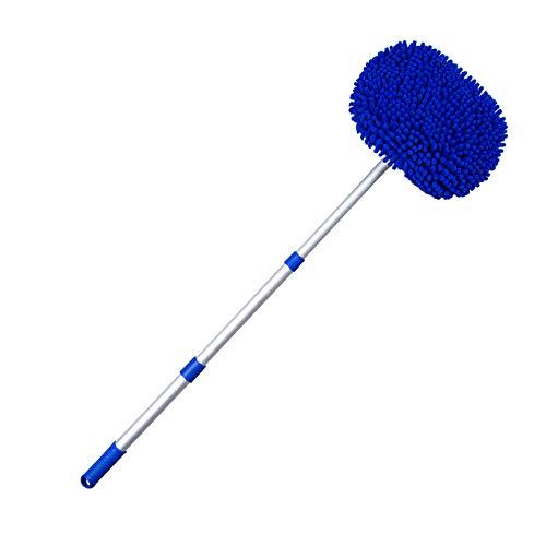 N/A Auto wassen borstel schoonmaken mop product bezem verstelbare telescopische schoonmaak tool roterende borstel auto-onderdelen