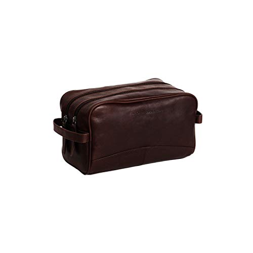 The Chesterfield Brand Stacey Toilet Bag Brown
