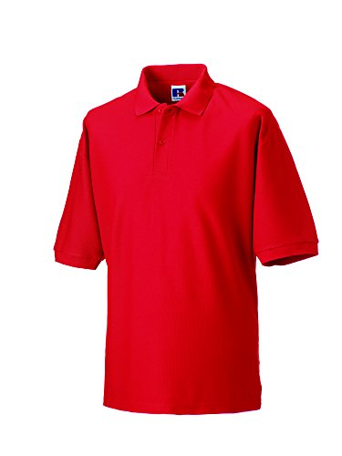 Jerzees - Polo - - Col polo - Manches courtes Homme - Rouge - Bright Red - X-small