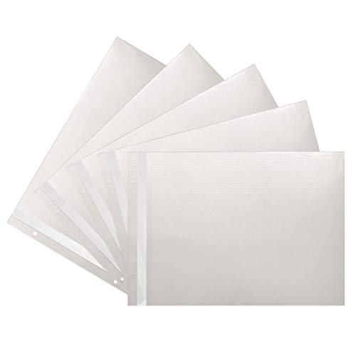 Refill Pages for JMV-207 Extra Large Magnetic Page X-Pando Photo Album