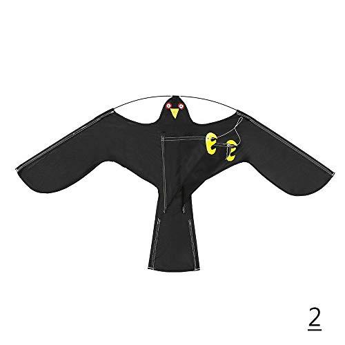 Outdoor Emulation Flying Hawk Vogel Scarer Drive Vogel Drachen, Flying Hawk Emulation Vogel Repeller Drive Vogel Drachen, Garden Scarecrow(2)