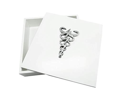 Caixa Decorativa, Fisioterapia, Branco, Sarquis Samara