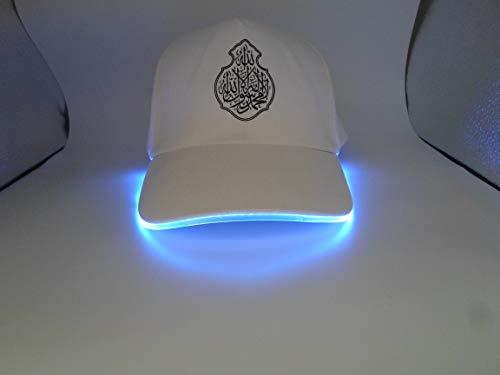 Biz Direct Online - Gorra de béisbol con luz LED para Exteriores e Interiores