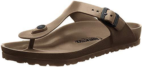 Birkenstock Unisex Gizeh Essentials EVA Sandals, Metallic Copper, 39 R EU