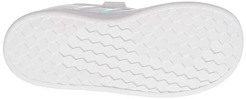 [アディダス]スニーカーキッズグランドコートIフットウェアホワイト/フットウェアホワイト/ダッシュグレー(FW1276)16.0cm