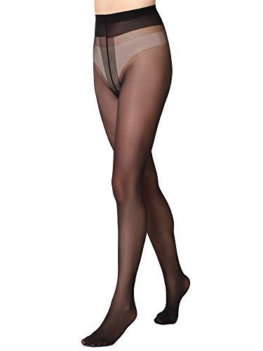 Merry Style Damen Strumpfhose 20 DEN MSFI018 (Schwarz, 4-L)