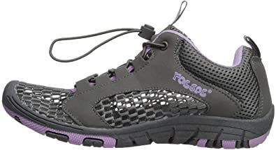RocSoc Women Aqua Kayaking Water Shoes, Premium Material Ultra Light Weight Flexible Thickened Rubber Sole, Breathable Beach Footwear for Women