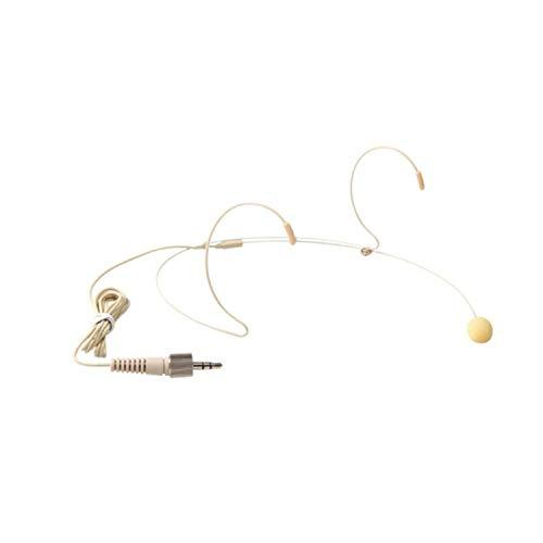 PROEL HCM23SE - Micrófono de Diadema de Condensador en Miniatura con Conector Minijack de 3,5 mm (Requiere Bodypack se Vende por Separado, Compatible con Bodypack Sennheiser), Color Carne