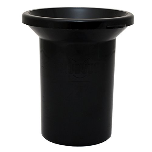 Mudjug Roadie Portable Spittoon Traveler - Virtually Spillproof - Fits Most Cupholders