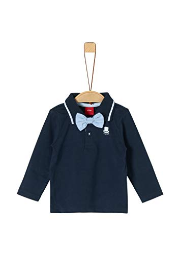 s.Oliver Baby-Jungen 59.911.35.3586 Poloshirt, Blau (Dark Blue 5952), (Herstellergröße: 80)