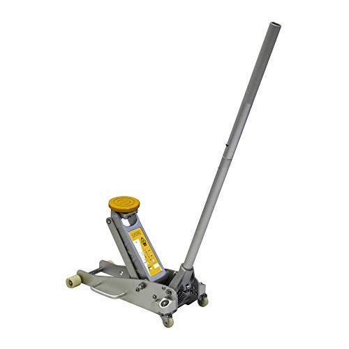 MAXTOOLS, TJA1350, Hydraulischer Wagenheber 1350kg, Superleichtes aus Aluminium, mit Demontierbar Griff mit Schneller Kupplung, Gewicht 10kg