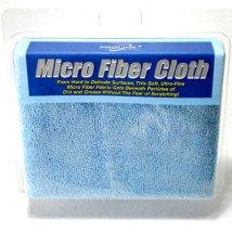3-Pack Blue Microfiber Cloths