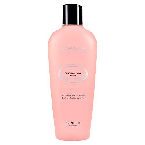 Aloette Sensitive Skin Toner - Balanced Hydrating Toner for Dry Skin - Age Defying Facial Lotion - Aloe Vera Toner for Sensitive Skin