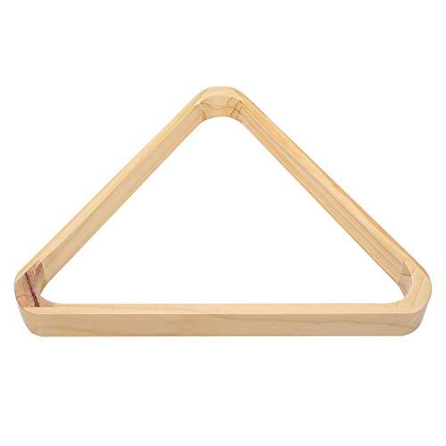 Alomejor Billard-Triangel, Snooker Ball Rack Holz Dreieck und Rhombus Tisch Pool Ball Racks Billardkugeln Zubehör(Rhombus)