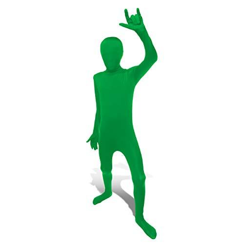 2nd Skin Morphsuit Kids Verde Costume Skinz Fancy Dress