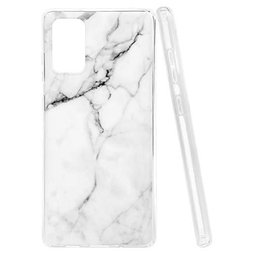Funda para Samsung Galaxy S20 Plus, Case Ultrafina Mármol Diseño Protectora Cover Protección Cáscara Gel TPU Carcasa Manga de Telefono movil Ultra Delgado Caja Cubierta Anti-Rasguño y Resistente