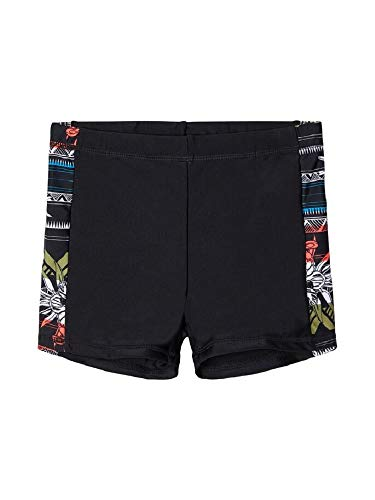 NAME IT Jungen NKMZAMOS Swim Tights Badehose, Black, 146-152