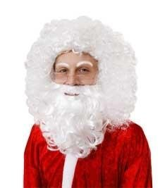 Santa perruque et barbe ensemble