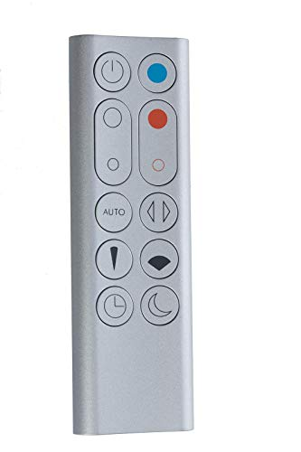 van MMSB GmbH Dyson afstandsbediening zilver voor ventilator Pure Hot + Cool Link - nr.: 967826-03