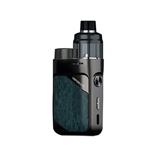 Original Vaporesso Swag PX80 Kit 80W Pod Mod Cartucho de 4 ml Pod Fit 0.2ohm 0.3ohm GTX Mesh Coil Vaporizador de cigarrillo electrónico (Gunmetal Grey)