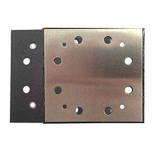 Superior Pads and Abrasives SPD16 1/4 Sheet PSA 8 Holes Sanding Pad Replaces Porter Cable OE # 135292 / 893667